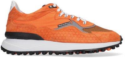 Floris van Bommel Oranje Floris Van Bommel Lage Sneakers 16337