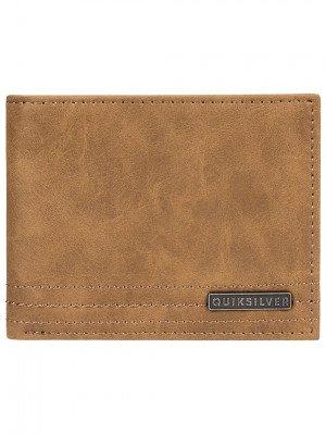 Quiksilver Quiksilver Stitchy VI Wallet geel