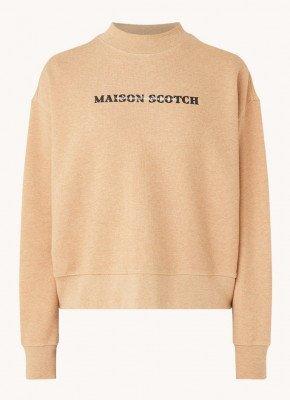 Scotch en Soda Scotch & Soda Sweater met logoprint