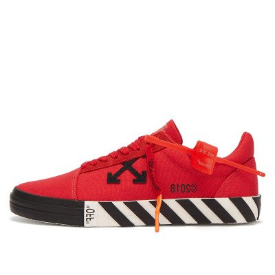 Off-White Off-White Vulc Low Top Sneakers Red (2018)
