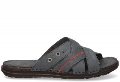 Cypres Cypres Marnix Blauw Herenslippers