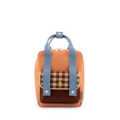 Sticky Lemon Sticky Lemon Small Backpack Gingham Cherry Red + Sunny Blue + Berry Swirl