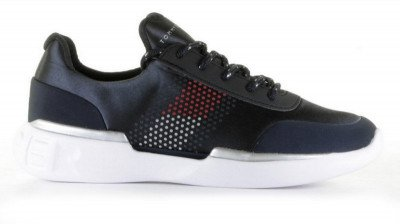 Tommy Hilfiger Tommy Hilfiger FW0FW03895 Donkerblauw Damessneakers