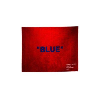 "Off-White Off-White x IKEA ""BLUE"" Rug Red Virgil Abloh (200x250cm)"
