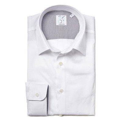SKOT Fashion SKOT Fashion Duurzaam overhemd heren Shadow White - wit