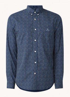 Gant Gant Regular fit overhemd met print