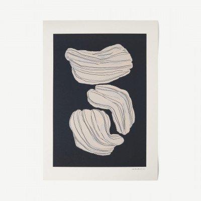 MADE.COM The Poster Club, Blur, print door Leise Dich Abrahamsen, 70 x 100 cm