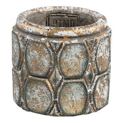 Ptmd cosmo grijs cement cirkel patroon rond xxs