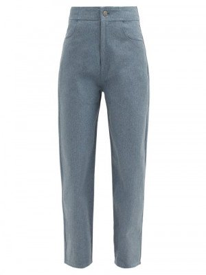 Vika 2.0 - High-rise Recycled-fibre Wide-leg Jeans - Womens - Denim