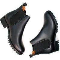 Will's Vegan Store Will's Vegan Store unisex vegan Chelsea Boots Luxe Deep Tread Zwart Zwart 42 Gerecycled rubber/Microfibre (micronappa, microsuède)/PU