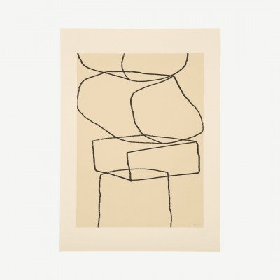 MADE.COM The Poster Club, Stacks, print door By Garmi, 50 x 70 cm