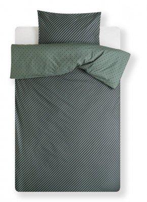 Covers en Co Covers & Co No Stripes No Glory dekbedovertrekset van biologisch katoen perkal - inclusief kussenslopen