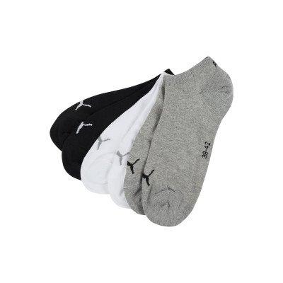 Puma Sneakersokken met stretch in een set van 6 paar