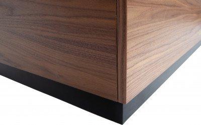 vtwonen vtwonen Bijzettafel 'Block' 82cm, kleur Walnoot