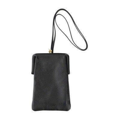 Jil Sander Clip closure pouch