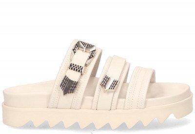 Nubikk Nubikk Lauren Taro II Off-White Damesslippers