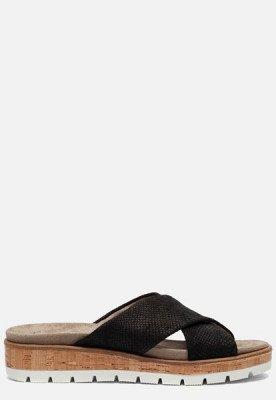 Feyn Feyn Slippers zwart
