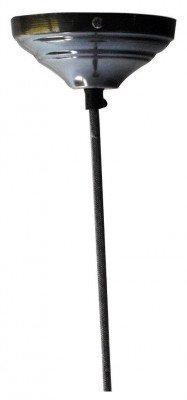 PTMD PTMD Hanglamp 'Iron Design', Glas, 30 x 29cm, kleur Wit
