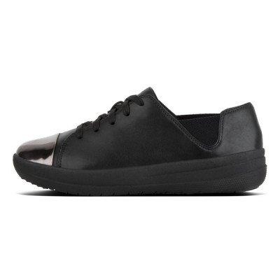 FitFlop FitFlop F-Sporty Mirror Toe sneakers zwart