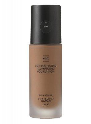 HEMA Skin Protecting Illuminating Foundation Dark 01 (bruin)