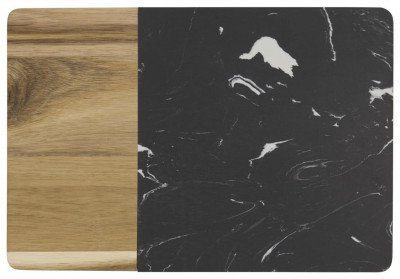 HEMA HEMA Snijplank 20.8x30x1.5 Marmer/hout