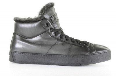 Santoni 20870 Grijs Herensneakers