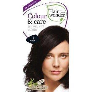 Hairwonder Colour and care 1 black - 100ml - Hairwonder Hairwonder