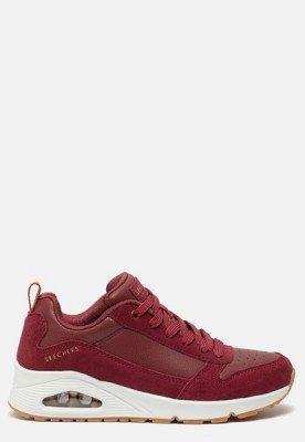 Skechers Skechers Uno Solid Air sneakers rood