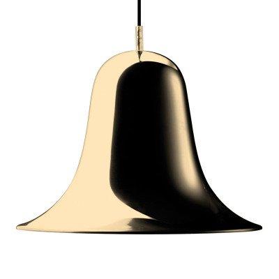 Verpan VERPAN Pantop hanglamp, Ø 30 cm, messing glanzend