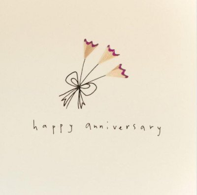 Growing Concepts Wenskaart - Happy Anniversary