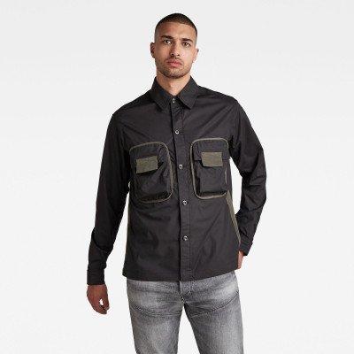 G-Star RAW Army 2 Pocket Relaxed Shirt - Zwart - Heren