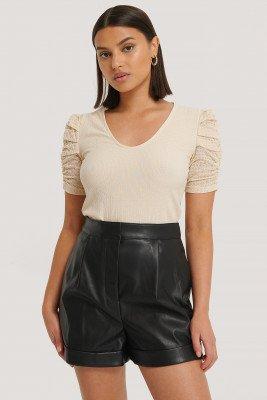 NA-KD Trend Pu Short - Black