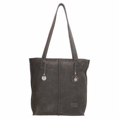 SoDutch SoDutch Bags Shopper Tulp #01 Donker Grijs