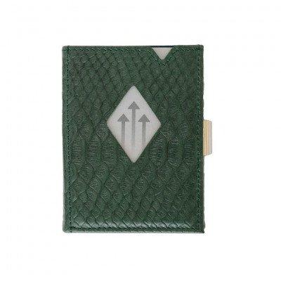 Exentri Exentri Leather Wallet Green Cobra