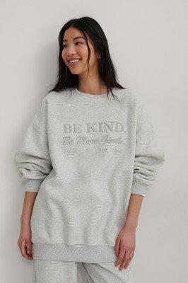 NA-KD Trend NA-KD Trend Organisch Sweater - Grey