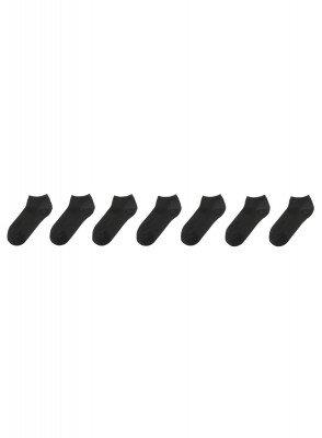 HEMA 7-pak Dames Enkelsokken Zwart (zwart)