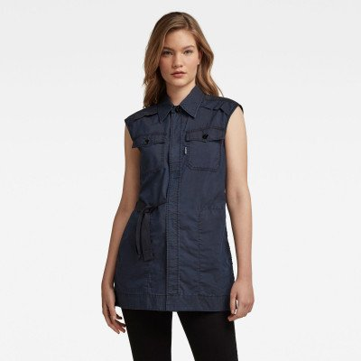 G-Star RAW Wrap Shirt - Donkerblauw - Dames