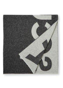 Acne Studios Acne Studios Sjaal in wolblend met logoprint 220 x 50 cm