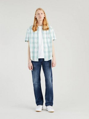 Levi's 501® Levi's® Original Jeans - Blauw / Give Your Heart Away