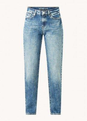 Denham Denham Bardot high waist straight fit jeans van biologisch katoen