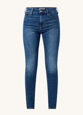 Levi's Levi's 720 high waist skinny fit jeans met medium wassing en stretch