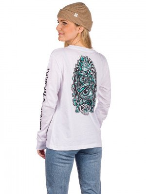 Element Element Antidote Long Sleeve T-Shirt wit