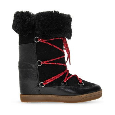 Isabel marant 'Nowly' wedge moon boots