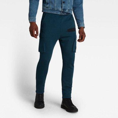 G-Star RAW Cargo Sweat Pants - Donkerblauw - Heren
