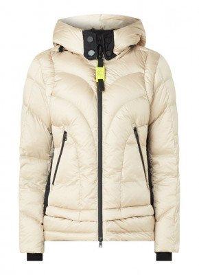 Creenstone Creenstone Gewatteerde jas met afneembare capuchon en donsvulling