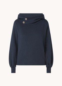 BAenSH ba&sh Daren sweater met knoopdetail