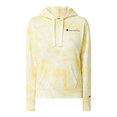 Champion Custom fit hoodie in batiklook