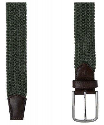 Profuomo Profuomo heren groene elastische riem