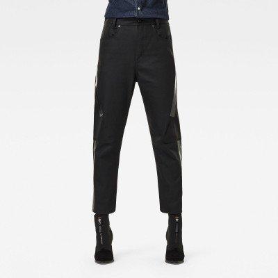 G-Star RAW X-Staq 3D Boyfriend Crop Jeans CT - Zwart - Dames