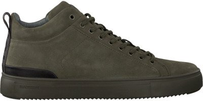 Blackstone Groene Blackstone Hoge Sneaker Sg19